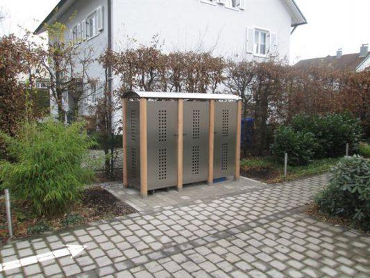 Gartenschrank Lochblech