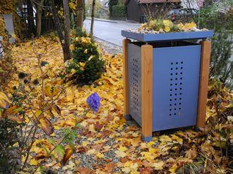 Mülltonnenbox MONO für eine Tonne - 120 l oder 240 l
