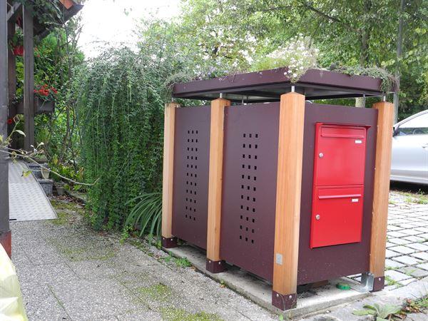 Super Müllboxen: Mülltonnenbox, Tonnenhaus, Müllhäuschen & mehr WM43