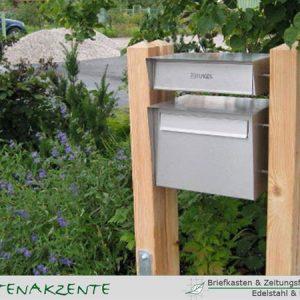 Briefkasten und Zeitungsfach JUM