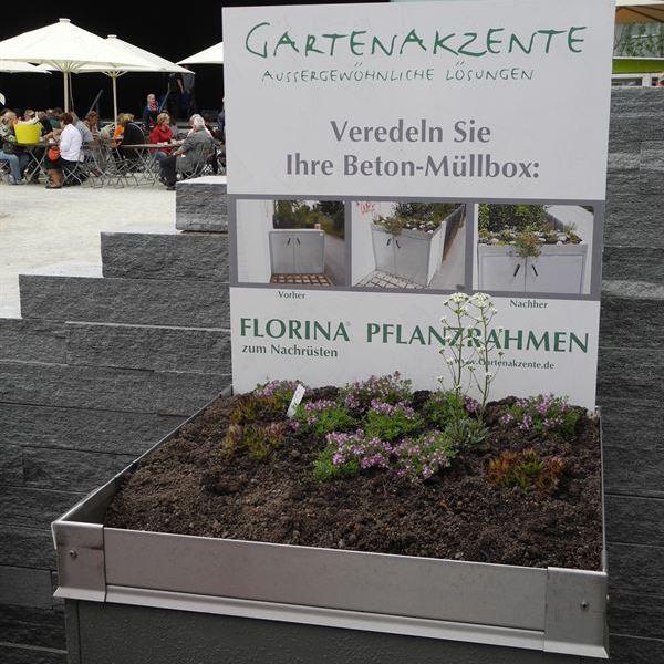 Pflanzrahmenvon Gartenakzente