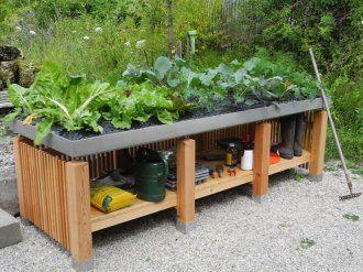 Tischbeet Verdi Dreifach von Gartenakzente